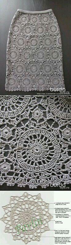 #crochet #tutorial #skirt