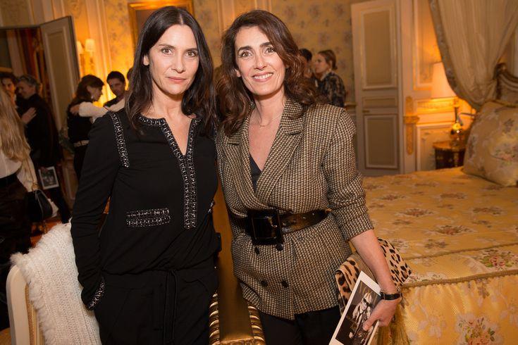 Géraldine Pailhas et Mademoiselle Agnès à la soirée Chanel & Vogue au Ritz