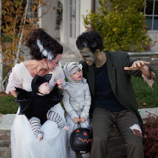Get spooky together this Halloween with these monster costumes. Simple DIY with easy to follow video links.