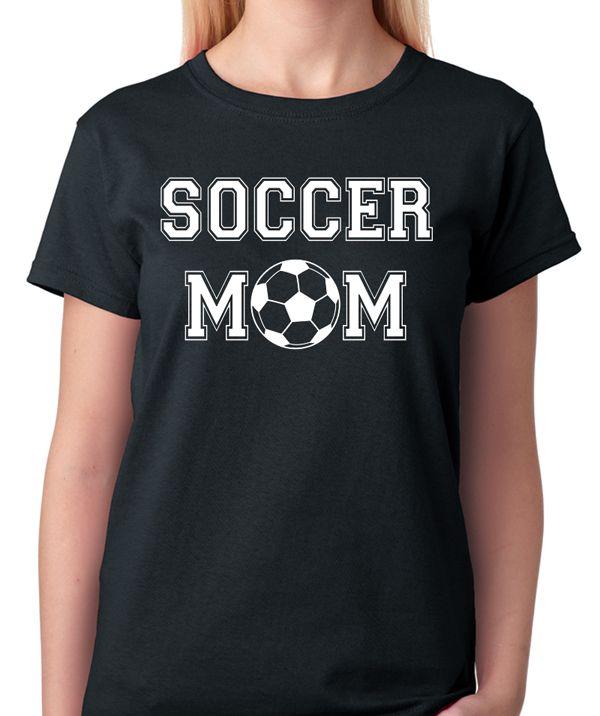 Soccer Mom T-Shirt - BadassPrinting.com