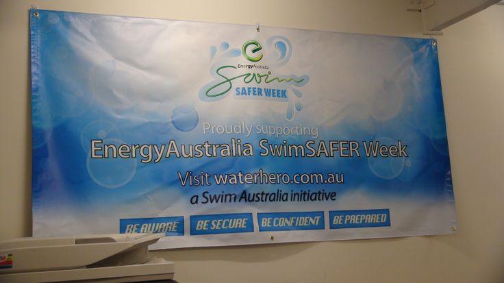 The Swim Australia Office is gearing up for next weeks inaugural National EnergyAustralia SwimSAFER Week!!!