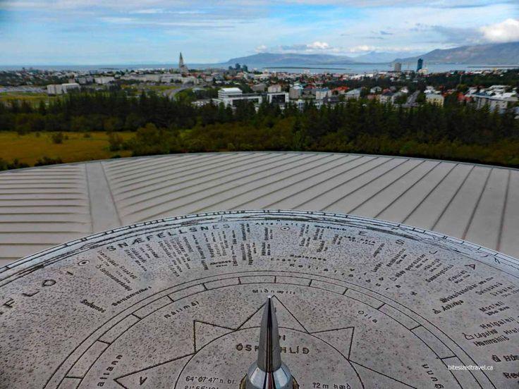 iceland reykjavik view perlan