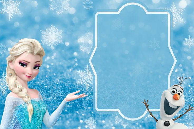 FREE Frozen Party Invitation Template download + Party ...