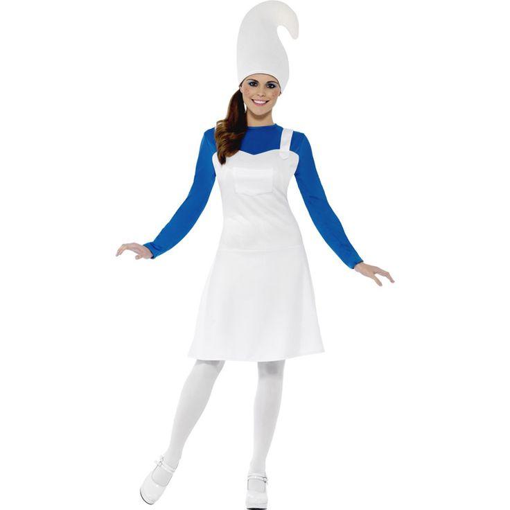 Déguisement Gnome Femme Bleu #déguisementsadultes #costumespouradultes #nouveauté2016