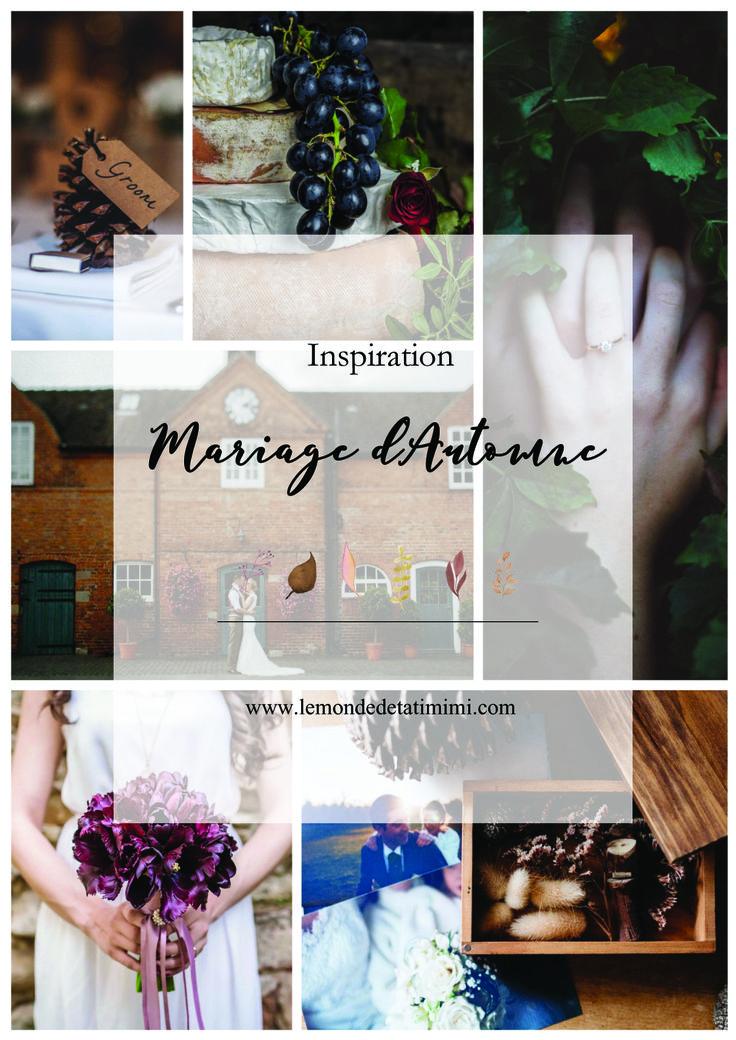 Venez (re)découvrir mon article sur mes inspirations pour un mariage d'automne by Tati mimi