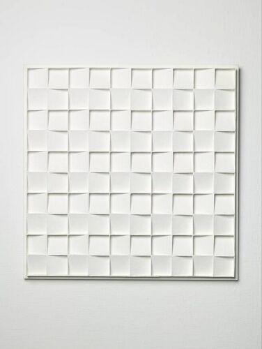 Jan Schoonhoven - Square relief, 3rd conception, 1967.
