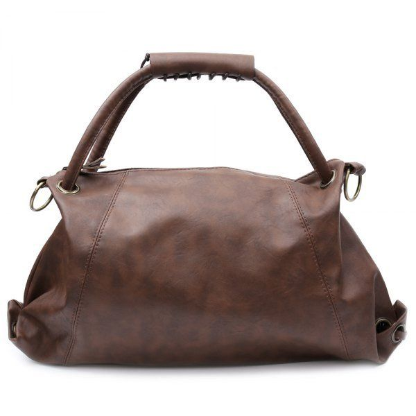 Hot Style Style Lady PU Leather Handbag Shoulder Bag