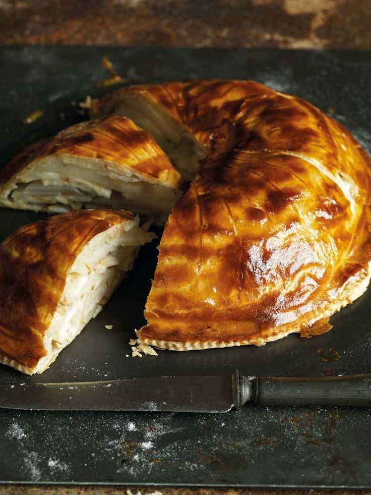 Celeriac and Lancashire Cheese Pithivier, Mark Hix