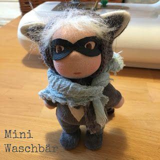 Pflanzenfaerberin * Isle of Fae * Mini Raccoon Doll