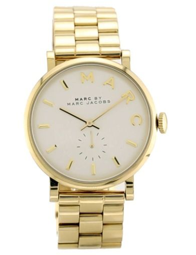 MARC BY MARC JACOBS - MBM3243  BAKER YELLOW GOLD TONE BRACELET WATCH