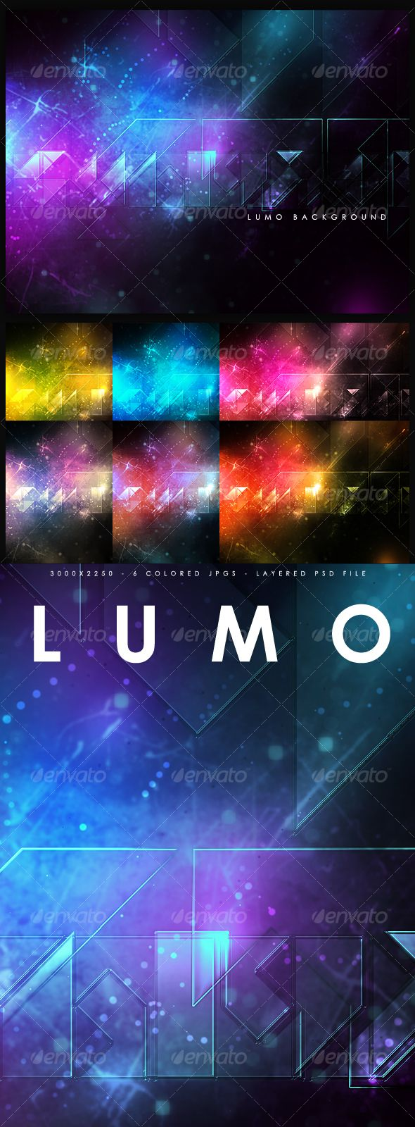 Lumo Background  — PSD Template • Only available here ➝…