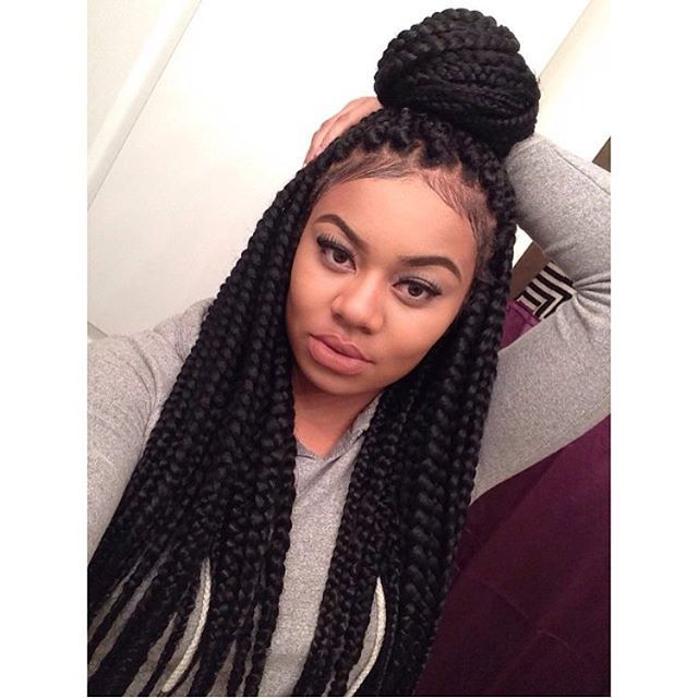 Crochet Box Braids Jumbo : jumbo box braids more crochet box braids box braids hairstyles ideas ...