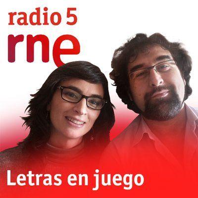 Programa radiofónico 'Letras en Juego', con los profesortes Delia Gavela y Juan Antonio Martínez Berbel.