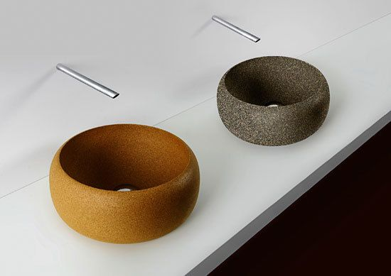 http://www.architonic.com/pmsht/cork-wash-basin-simpleformsdesign/1061609