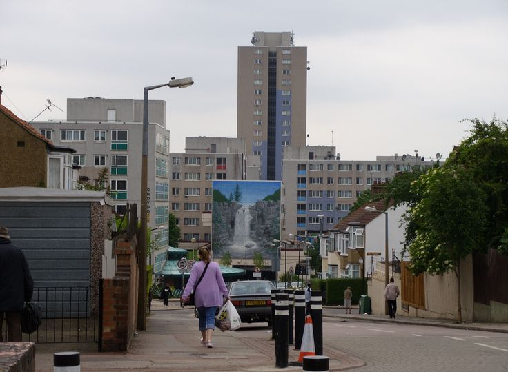 Broadwater Farm Estate in London. Poor housing there led to unrest in 1985 that left two dead.