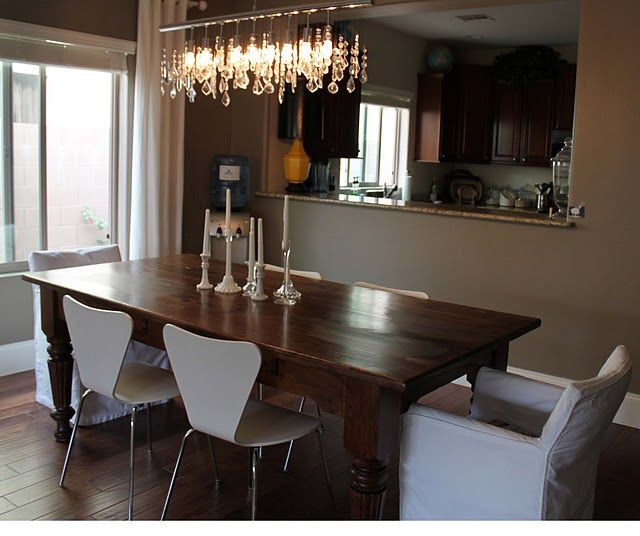 Refinishing Dining Room Table: Best 25+ Refinished Dining Tables Ideas On Pinterest