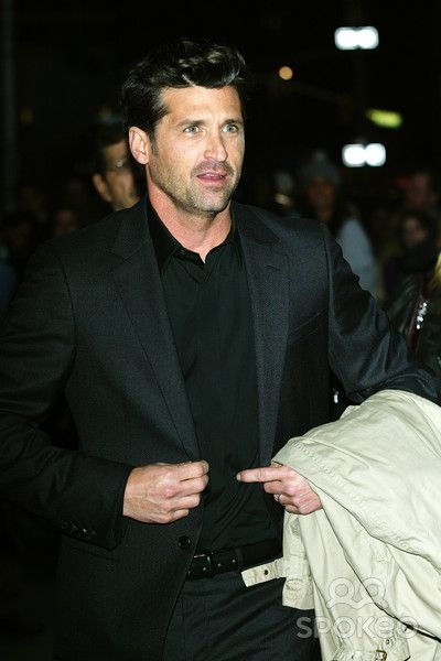 Patrick Dempsey outside the Ed Sullivan Theater for the 'Late Show ...