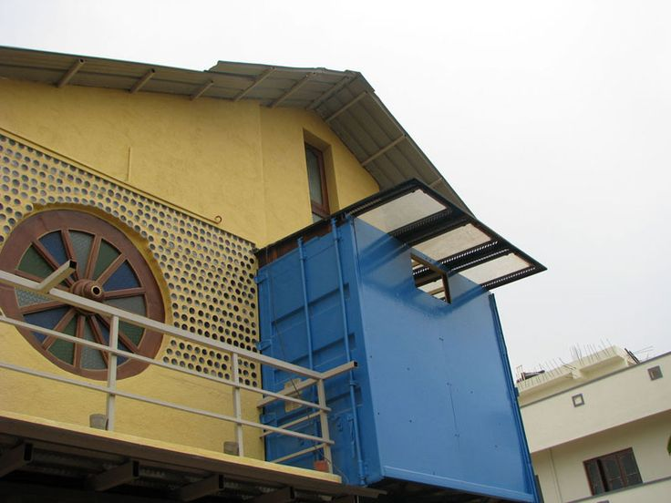 house made of containers in India