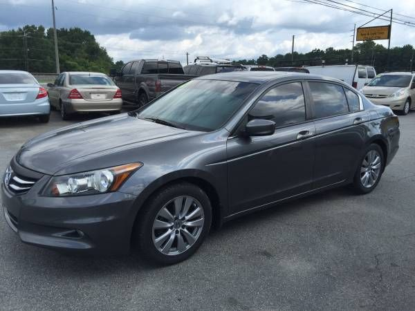 2012 HONDA ACCORD EX NAVI!!!! LEATHER!!!! LOADED!!!!! (CALL FOR DOWN)