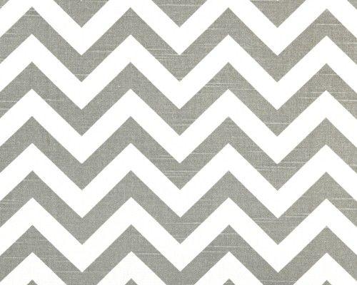 grey chevron fabric $9.00 per yard