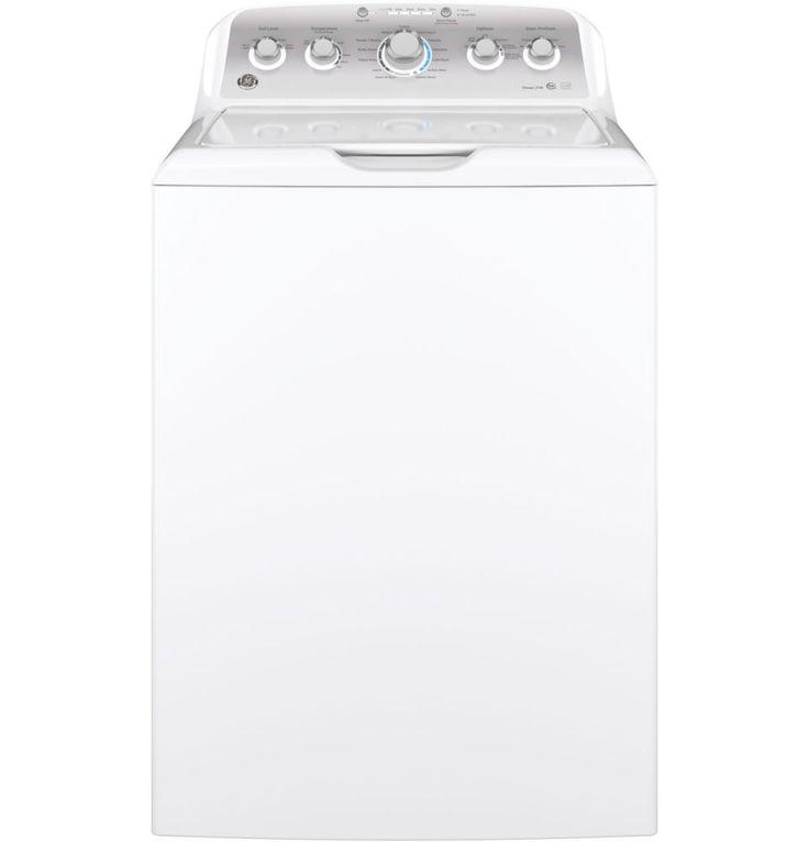 GE blanc laveuse à grande capacité de 4,9 pi3.
