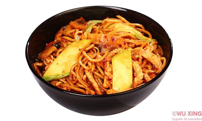 Noodles cu curcan (iute)
