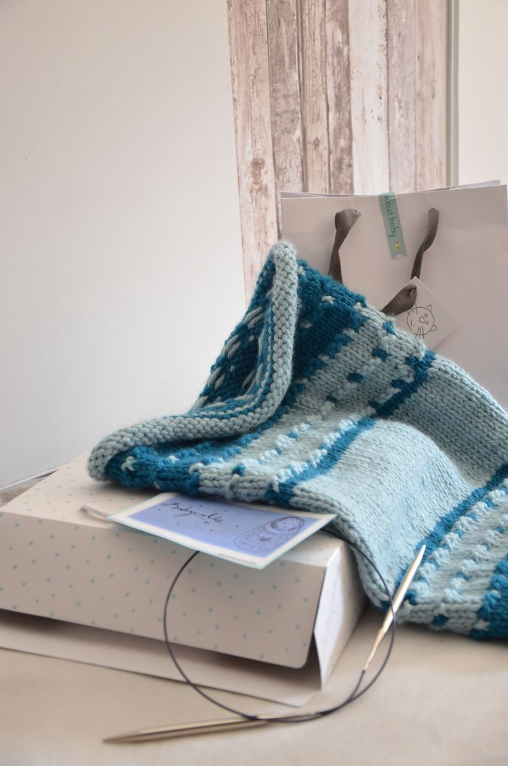 Babycaldo : le Nice Babywool crée par les Sisters in Wool, notre version du sac d'emmaillotage.