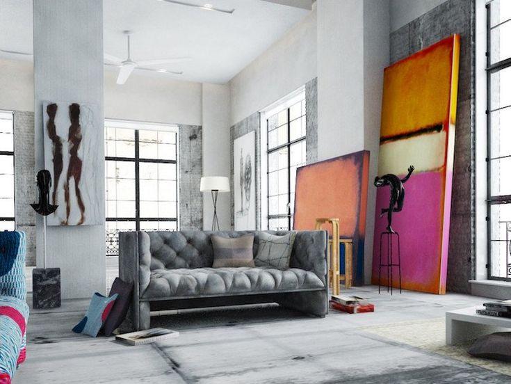 Dites «Adieu !» aux murs vierges et décorez vos pièces conformément aux dernières tendances émergentes sur Pinterest ! Découvrez si un grand tableau abstrait, une photographie noir et blanc ou un poster XXL conviendrait mieux à votre décor existant ! #decoration #homestyle #decor