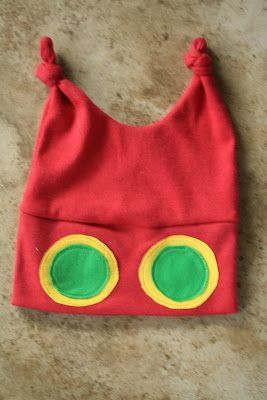 Kenda's Crafts: The Very Hungry Caterpillar costume