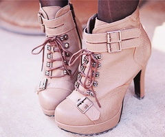 booties: Fashion, Style, Dream Closet, Pink, Heels, Shoes Shoes, Boots
