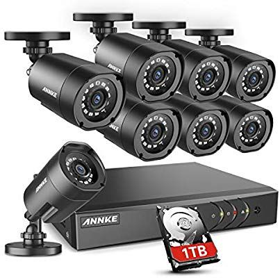 Amazon.com : ANNKE Home Security Camera System 8 Channel ...