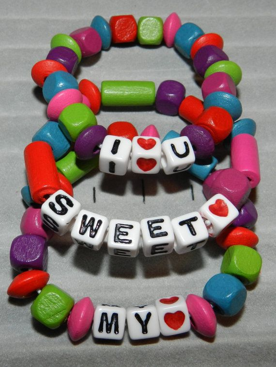 Spell Out Words Names With Letter Beads Childrens