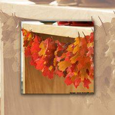 Fall leaf crafts for adults is a fantastic fall or for Leaf crafts for adults