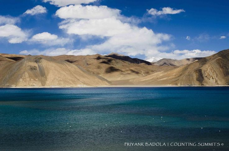 A high altitude lake on the borders of India in the Ladakh region, the Pangong Tso is a must visit destintion for any traveller in Ladakh. The lake is totally free from any contamination and pollution as there are no activities that take place on or near the lake. It shares its waters with China on the east. One has to undergo a long but scenic drive from Leh crossing wirld's third highest pass, Chang La, to reach this alpine lake.