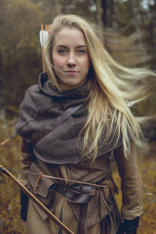A Traditional Archer's Point of View — She is cute yes, but that garb is awesome.