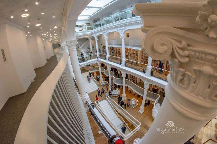 Carturesti Carusel Bookstore aka The Carusel Of Light
