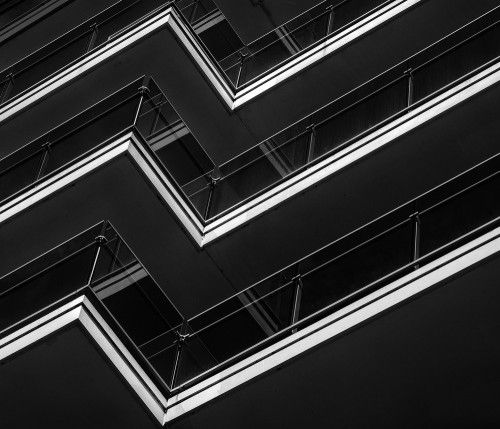 A symphony of lines by Jef Van den Houte