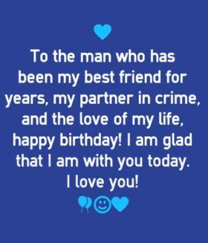 50 Cute and Romantic Birthday Wishes for Husband - Part 2