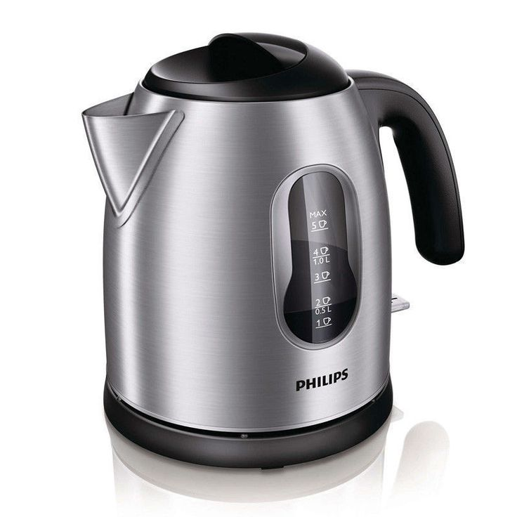 Philips Electric Tea Kettle HD4622/20 1.25L 2400W 220~240V Stainless Teapot #Philips