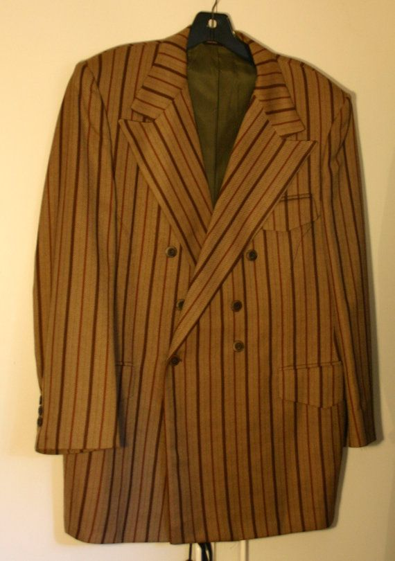Size 44 1940's to 60's Rat Pack Gangster by DMVintageShowroom