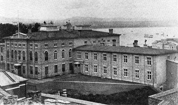 Le second Parlement en 1865.