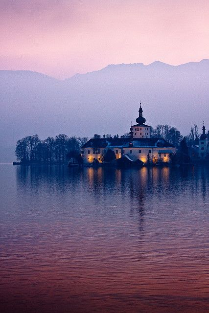 Schloss Orth Castle on Lake Traunsee ~ Gmunden, Austria
