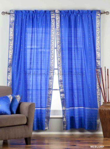 17 best ideas about Blue Curtain Poles on Pinterest | Velvet ...