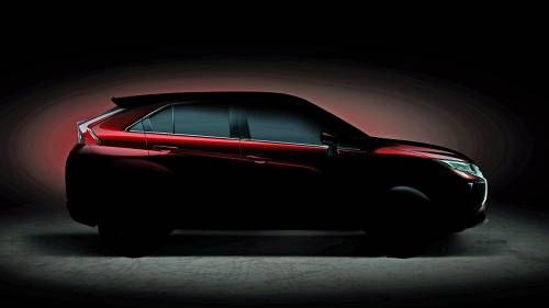 Mitsubishi Teases All-New Geneva Motor Show-Bound Small Crossover
