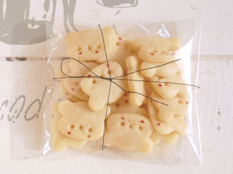 tiny bear cookies