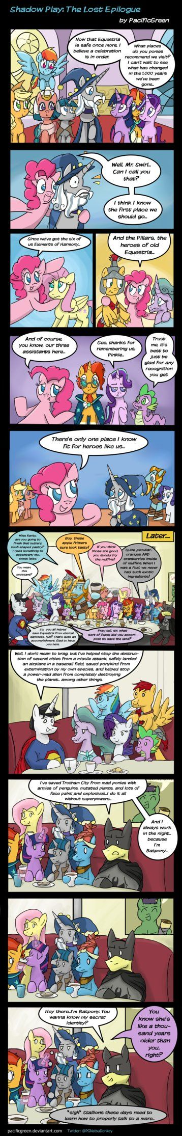 MLP: Shadow Play- The Lost Epilogue by PacificGreen.deviantart.com on @DeviantArt