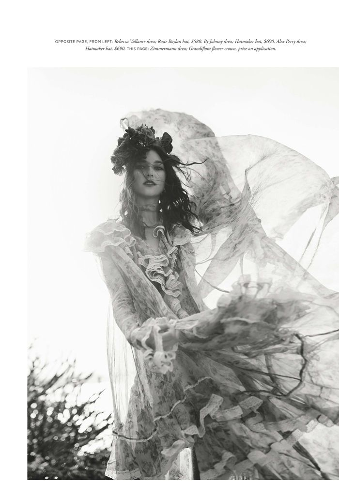 Stephanie Joy Field for Harper's Bazaar December 2016 shot by Georges Antoni | Chic Management