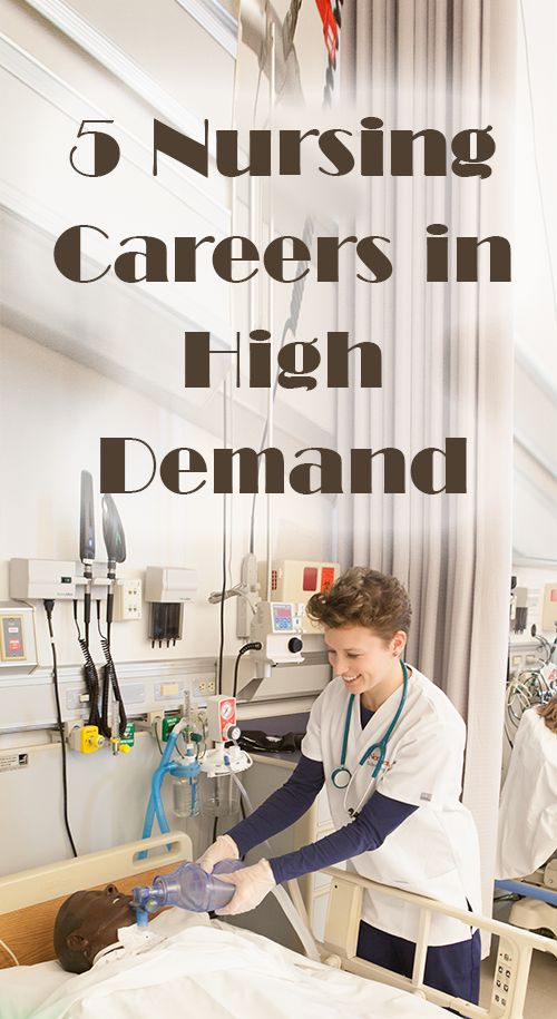 5 Nursing Careers in High Demand