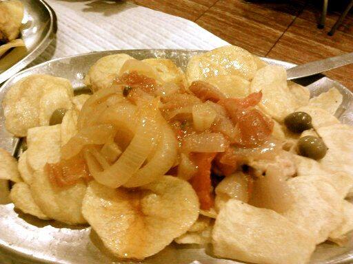 Homemade Bacalao a la Braga from Porto