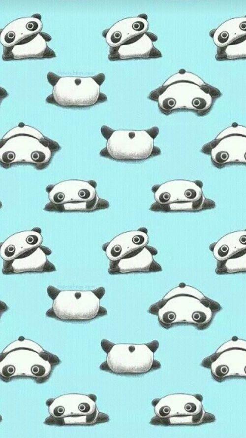 panda and wallpaper image Panda wallpapers, Tare panda